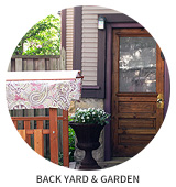 Victorian House Tour: Back Yard and Garden
