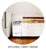 Victorian House Tour: Kitchen / Craft Room