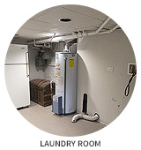 Victorian House Tour: Laundry Room