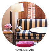 Victorian House Tour: Home Library (Double Parlor)