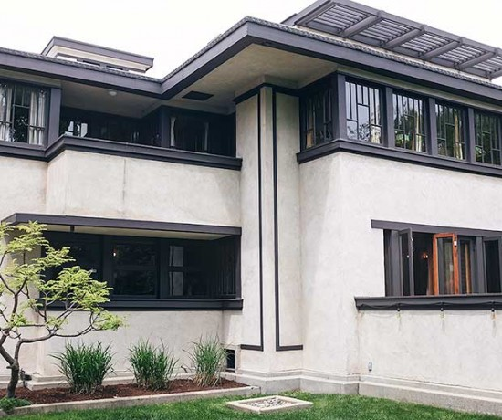 The Oscar B. Balch House by Frank Lloyd Wright, Oak Park