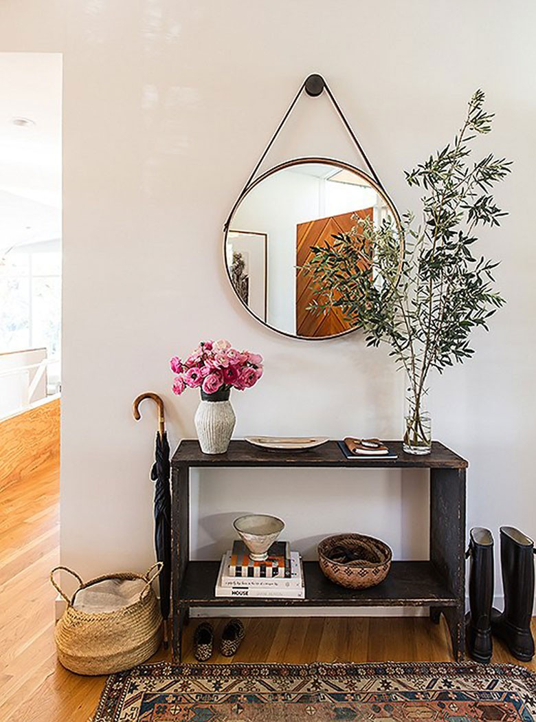 Choosing A Console Table And Mirror For An Entryway Making