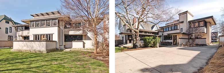 Oscar Balch House, Front and Back