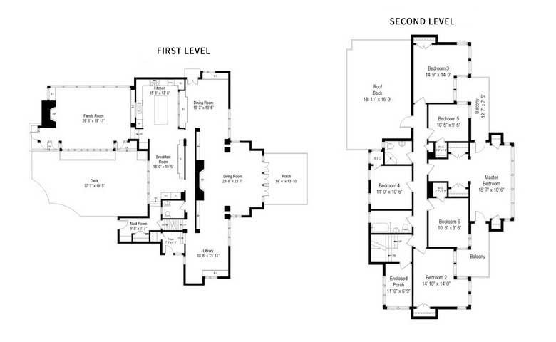 Oscar Balch House Floor Plan