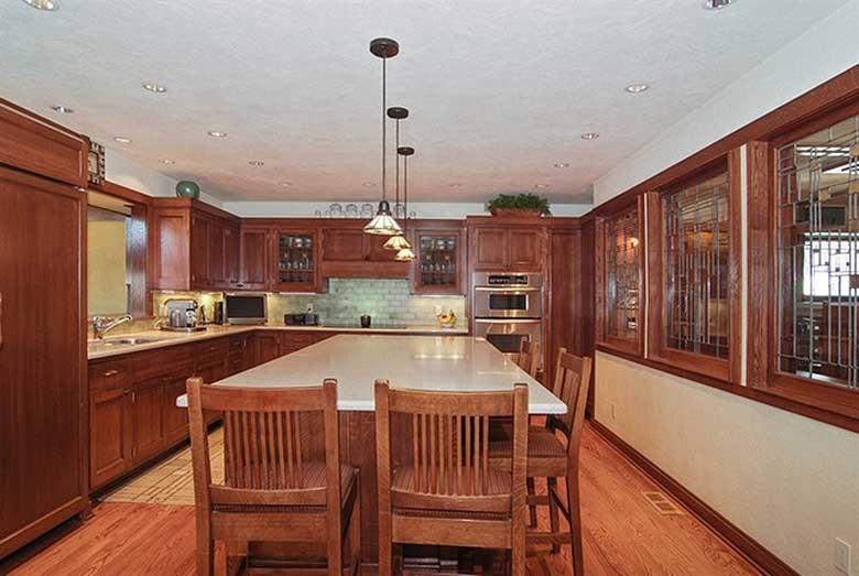 Frank Lloyd Wright Oscar B. Balch House Kitchen