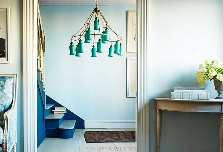 Sara Turquoise Chandelier by Canopy Designs