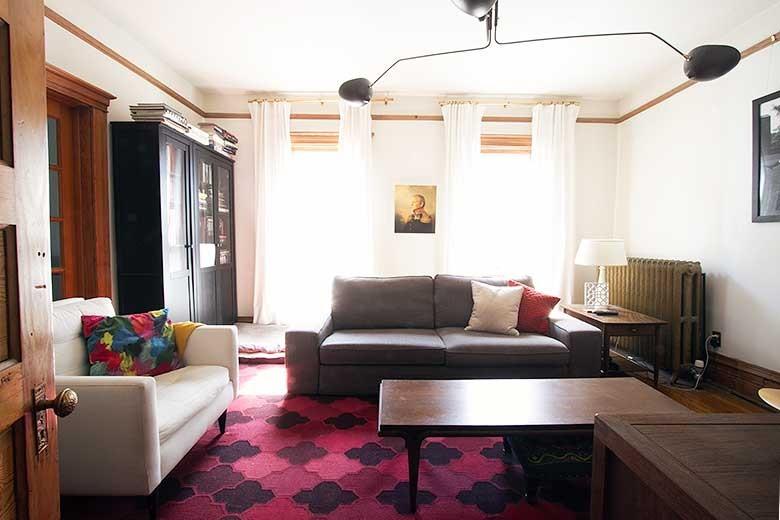 Den / Family Room / TV Room (Before)