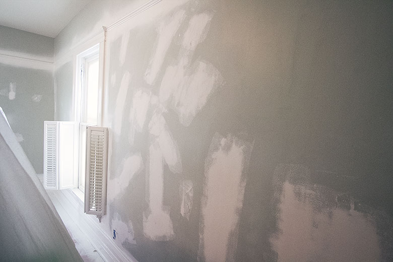 Patching Hairline Cracks in Plaster Walls