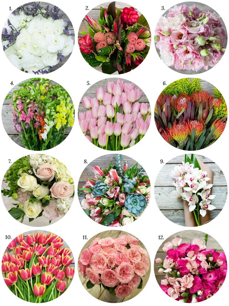 Favorite flowers from The Bouqs Company