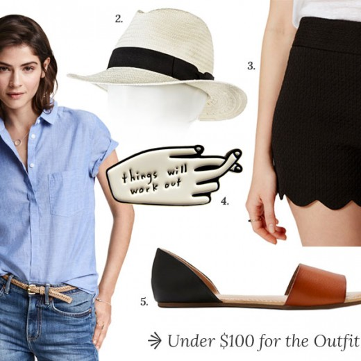 Under $100 Spring Outfit