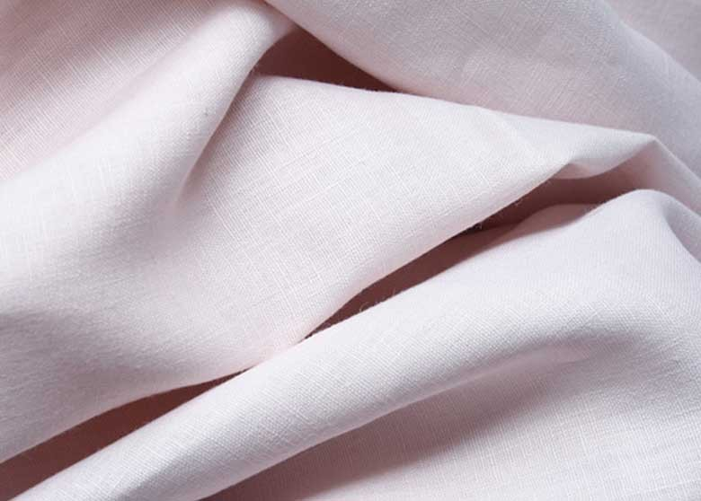 Pink Linen Fabric from Tonic Living