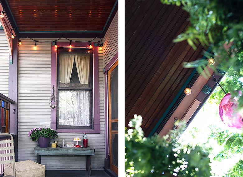Back Porch String Lights