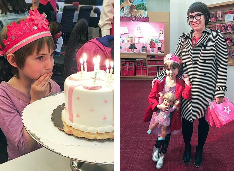 Eleanor's Seventh Birthday, American Girl Place Café