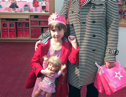 Eleanor's Seventh Birthday, American Girl Place Café