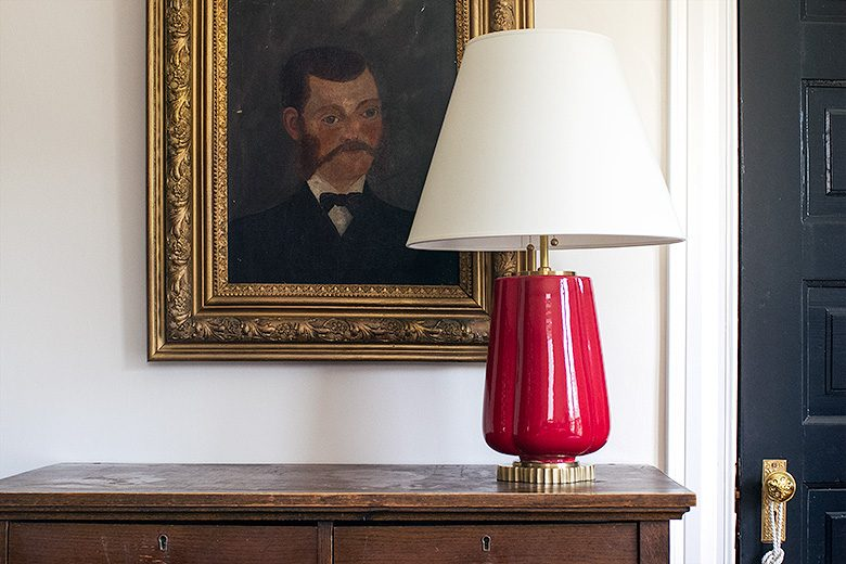 Mr. Muttonchops and the Red Lamp