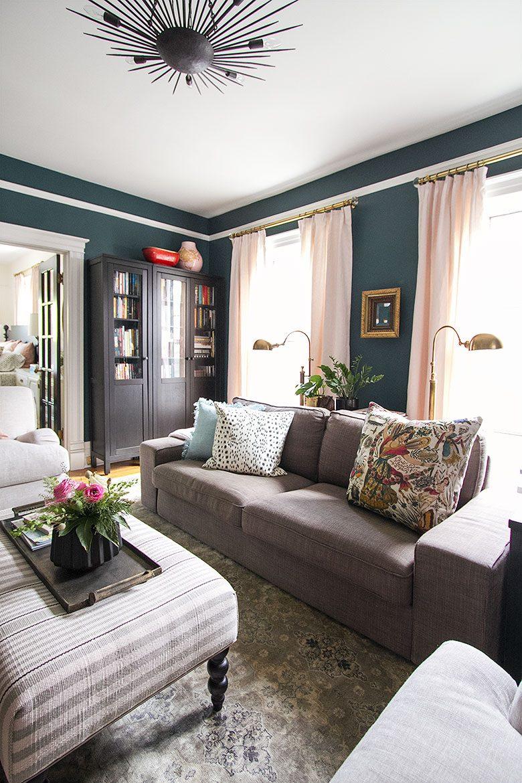 Our Family Den | Making it Lovely's One Room Challenge Den