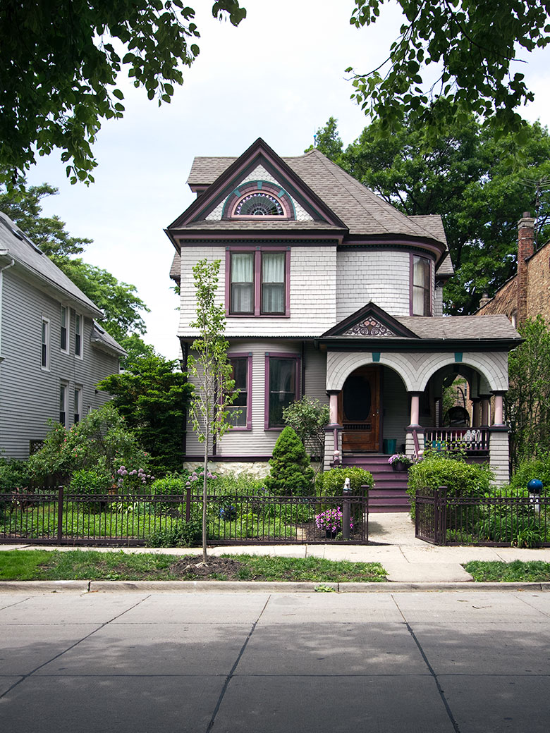 Making it Lovely's Queen Anne Victorian House