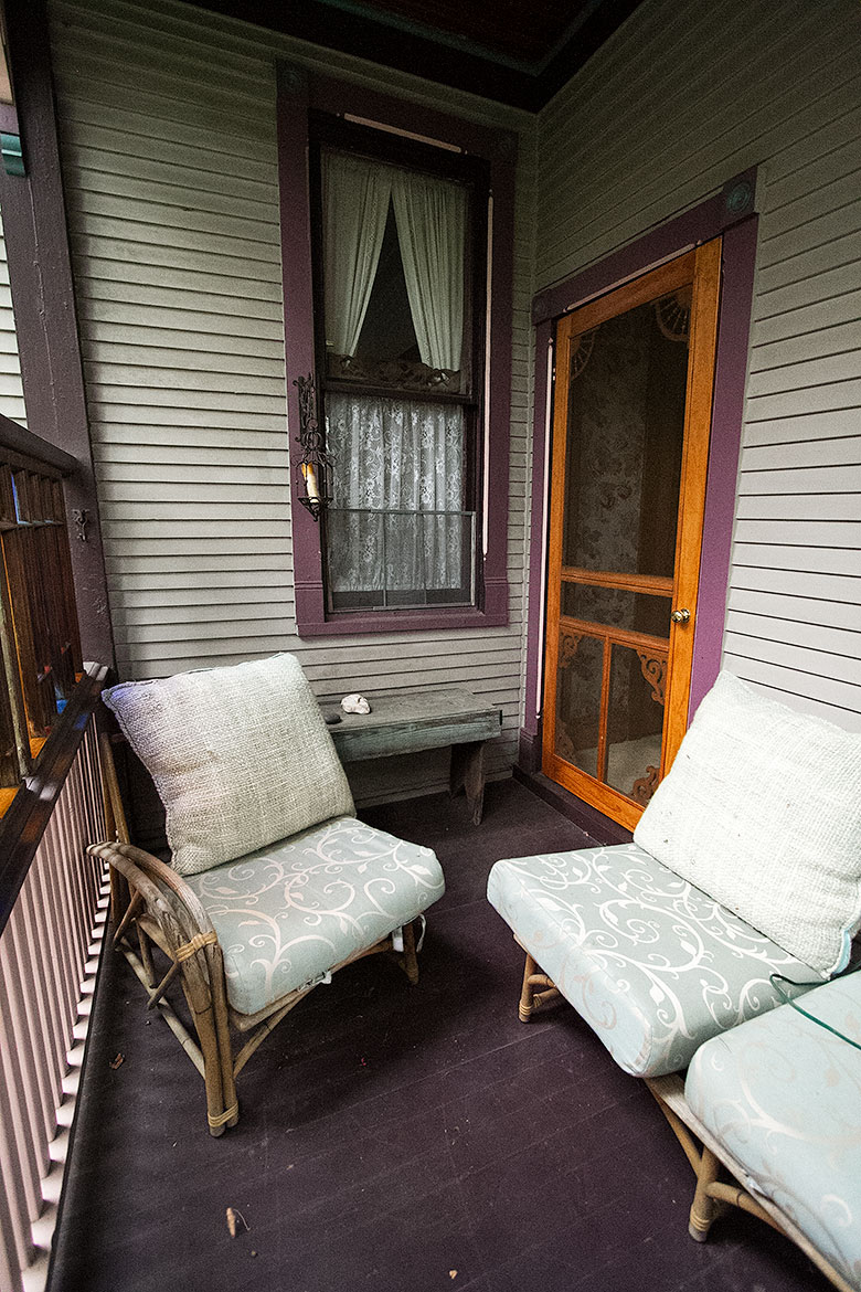 Back Porch, Before