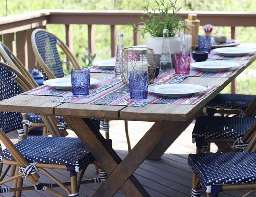House of Hipsters' Patio Makeover