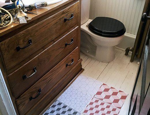 Bathroom (Third Floor) Progress