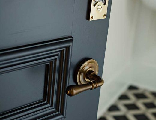 Vacant / Occupied Door Lock - Jessica Helgerson Design
