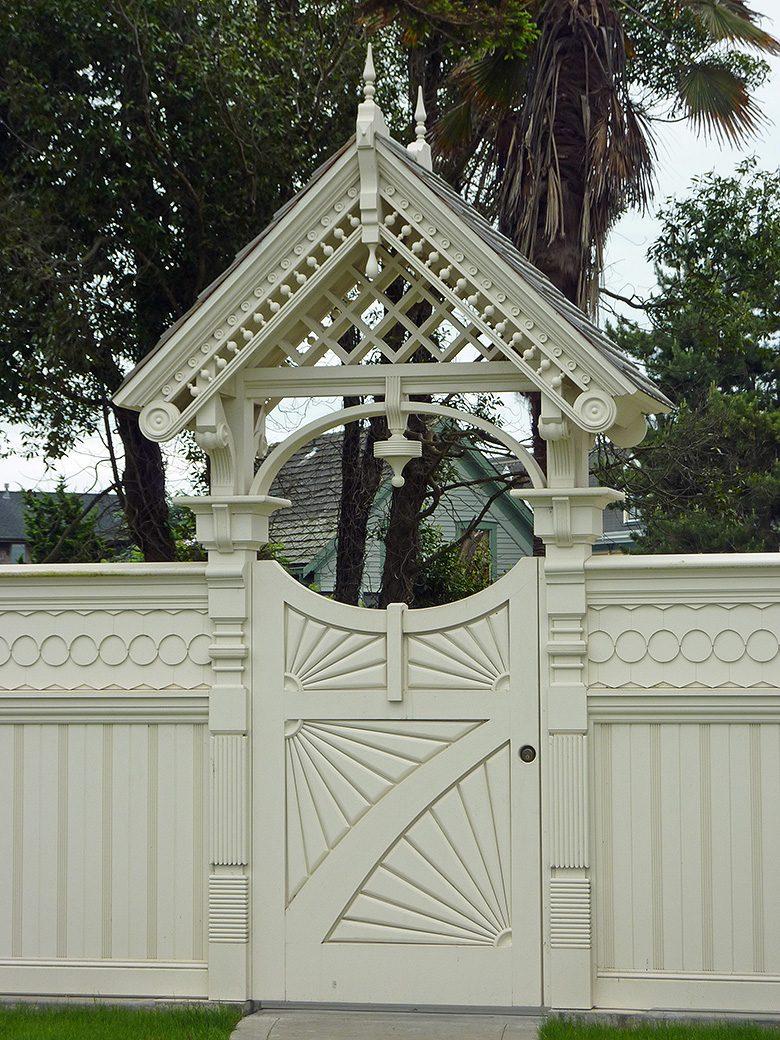 Eureka, CA, Garden Gate