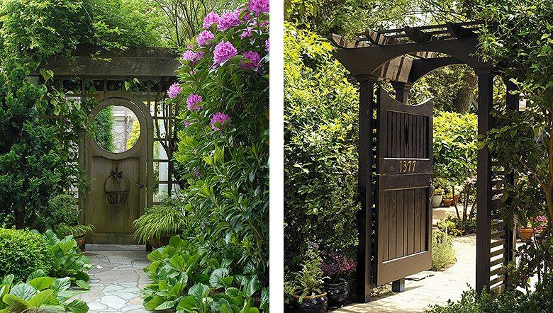 Garden Gates, Pergolas, and Trellis Fence