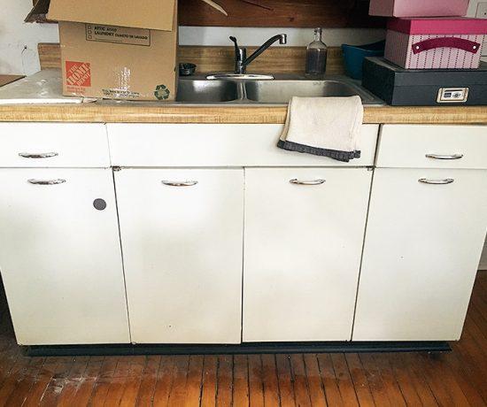 Metal Sink Cabinet