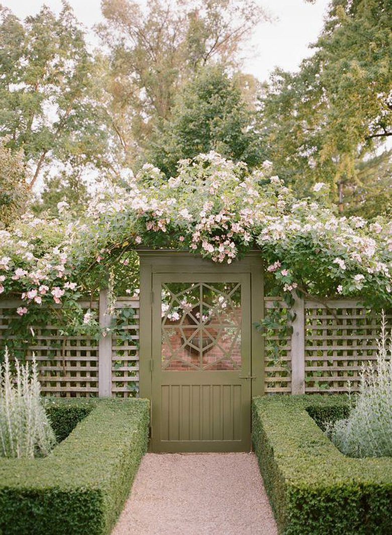 Garden gate inspiration making it lovely for How to make a garden gate door