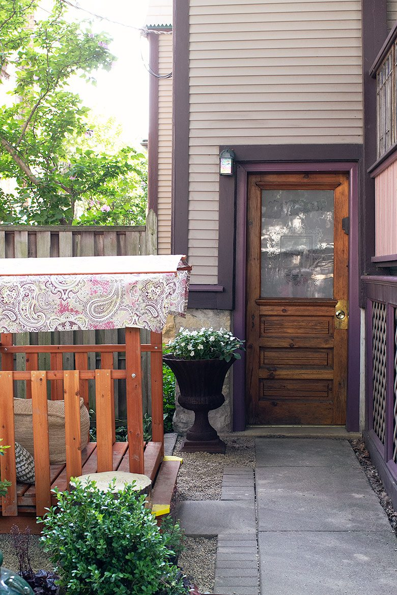 Play Area by the Back Door