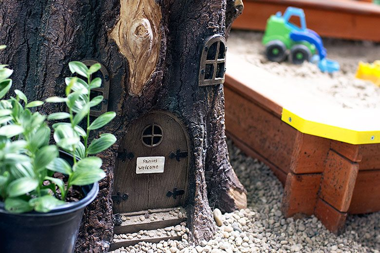 Fairy House Tree Stump