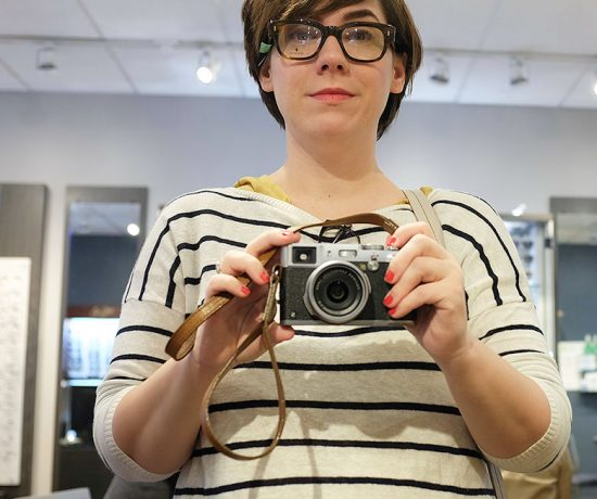 Trying on Glasses at MyEyeDr.