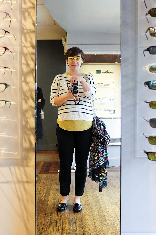 Highlighter Yellow Glasses!