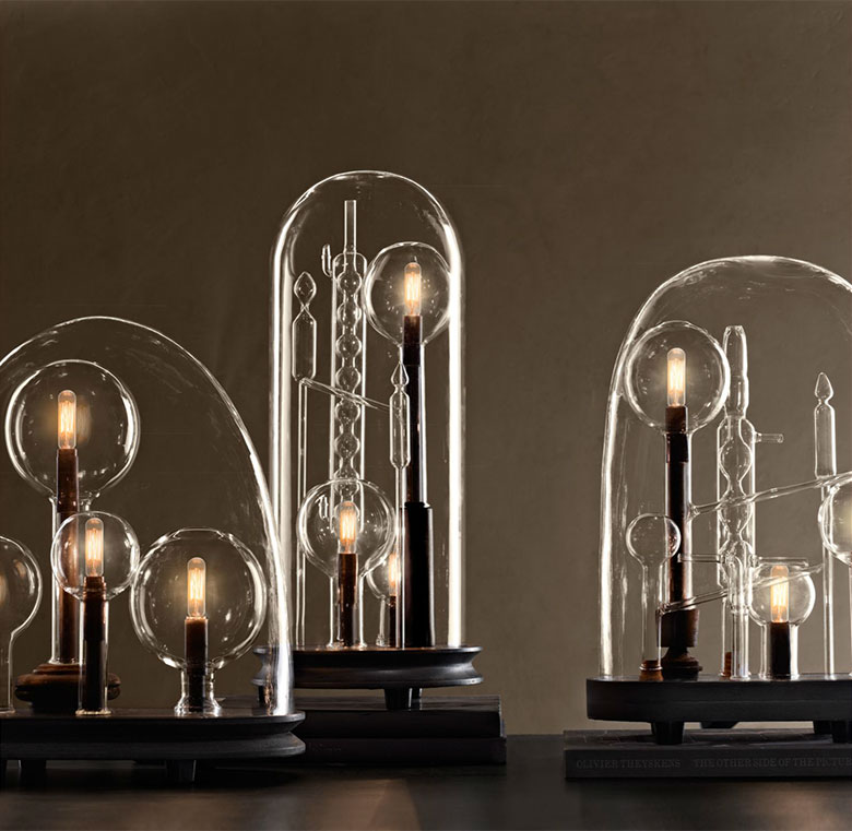 Cloche Lamps - Making it Lovely