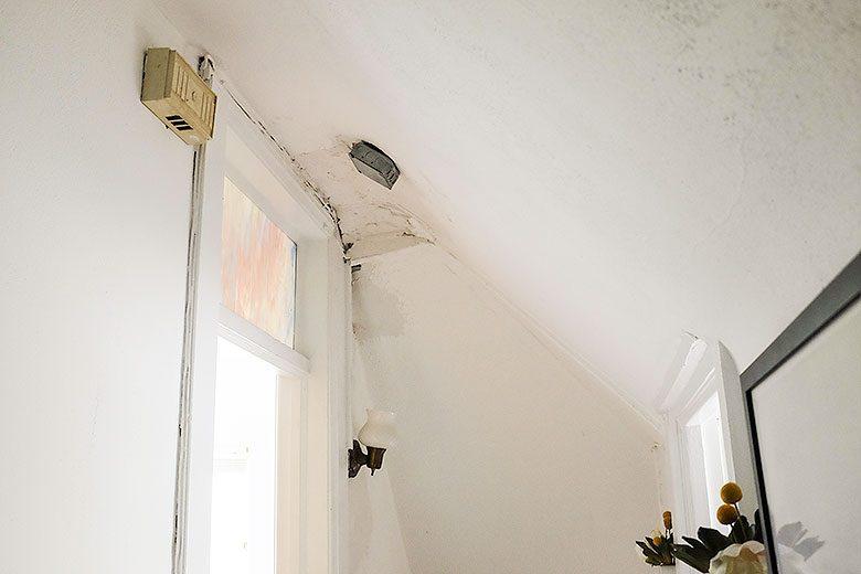 Third Floor Rewiring Damage