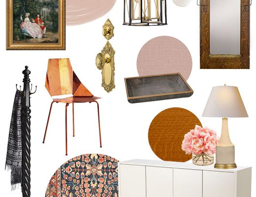 Front Entryway Design Plan | Making it Lovely's One Room Challenge