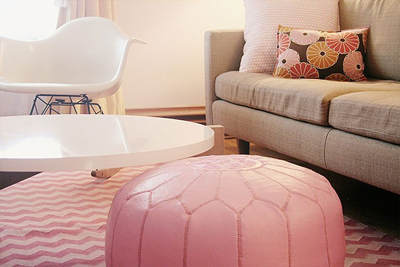 Pink Living Room Details by Nicole Balch, Making it Lovely
