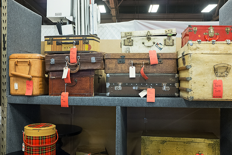 Jayson Home Warehouse Sale | Vintage Trunks and Suitcases