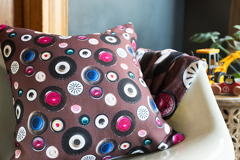 """""""Wheel Cars"""" Personalized Patterned Pillow from Shutterfly   Making it Lovely"""