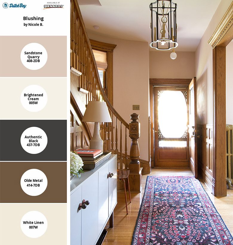 My Dutch Boy Color Palette with the Simply Yours Tool | Making it Lovely, One Room Challenge