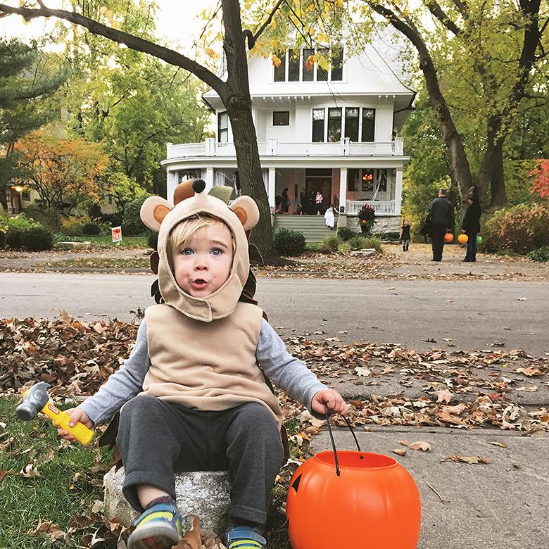 Calvin, Halloween 2016