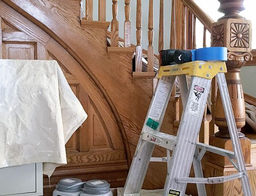 Getting Ready to Paint — Dutch Boy 'Sandstone Quarry'