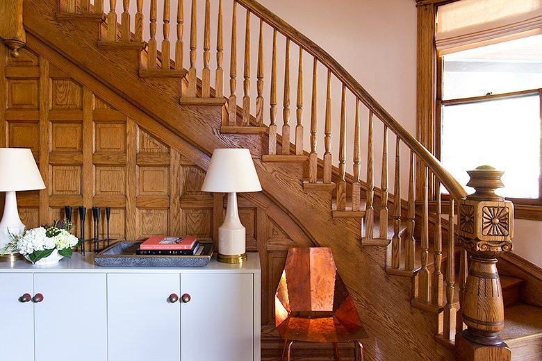 Victorian Wooden Staircase | Making it Lovely, One Room Challenge