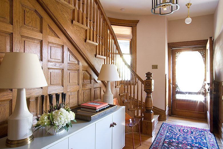 Queen Anne Victorian Front Entry   Making it Lovely, One Room Challenge