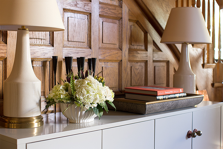 Front Entry Sideboard   Making it Lovely, One Room Challenge