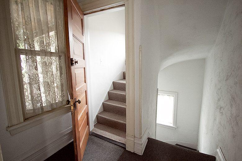 Back Hallway, Before