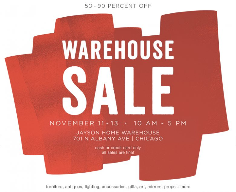 Jayson Home Warehouse Sale