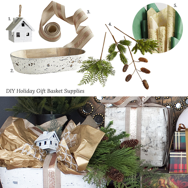 DIY Pier 1 Holiday Gift Basket