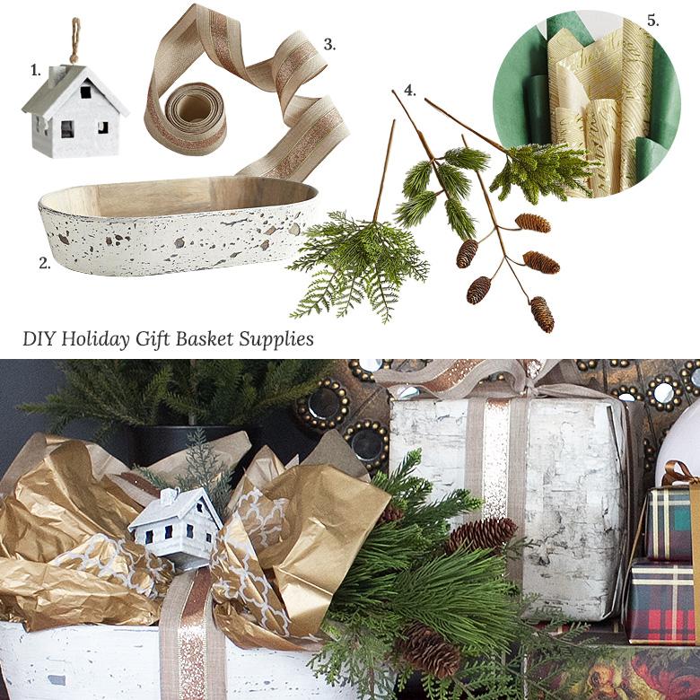 DIY Pier 1 Holiday Gift Basket