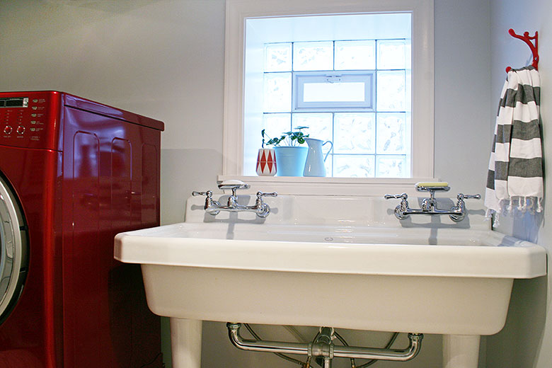 Kohler Utility Sink, Laundry Room | Making it Lovely